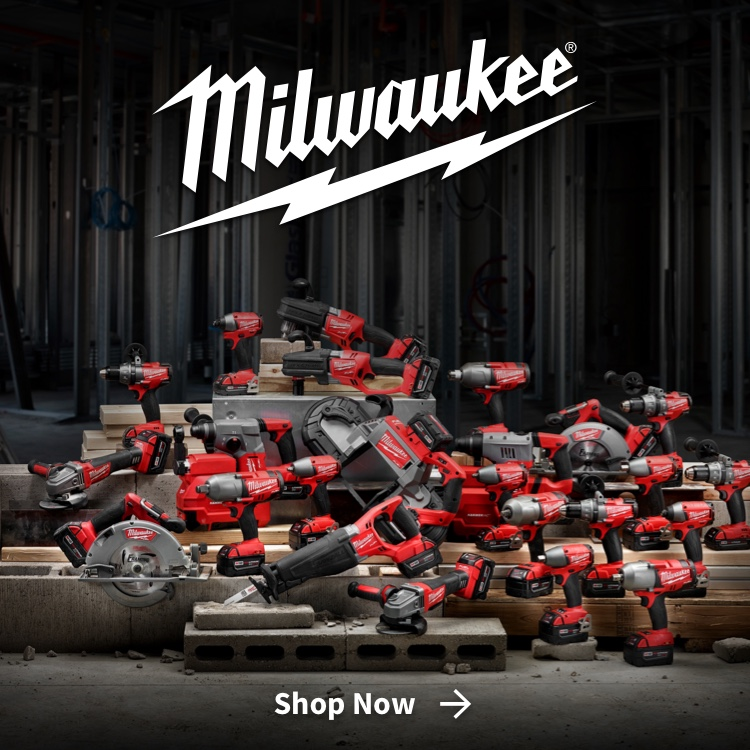 Shop Milwaukee power tools from Scott's Building Center