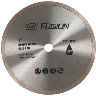 M-D Fusion 7 In. Wet Saw Replacement Blade
