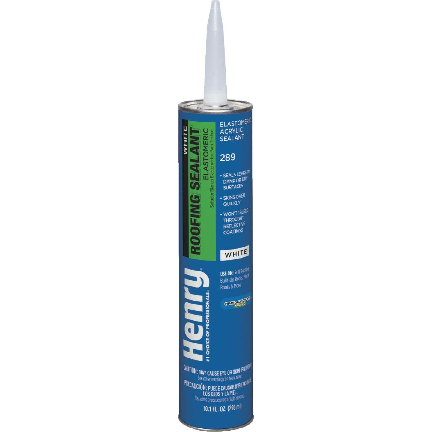 Henry 10.1 Oz. White Roof Cement and Patching Sealant Image 1