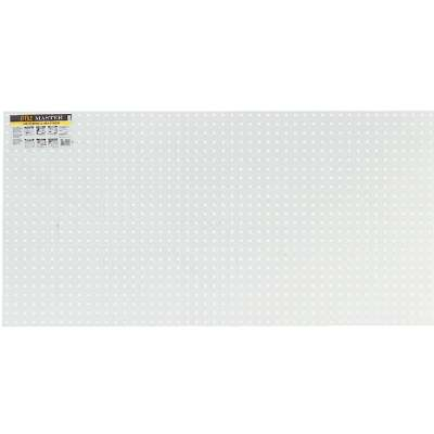 Pegmaster 2 Ft. x 4 Ft. x 1/4 In. White Plastic Pegboard
