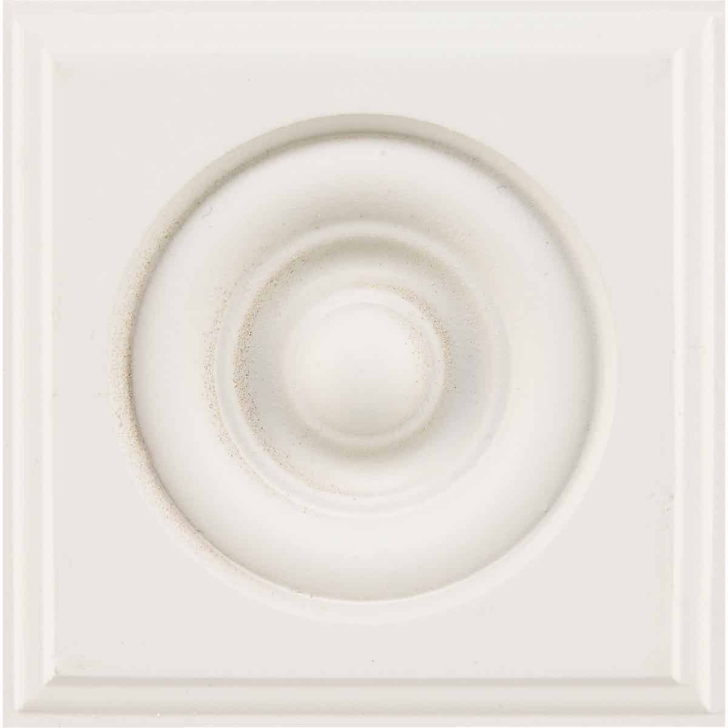 House of Fara 7/8 In. x 3-1/2 In. Primed MDF Rosette Image 4
