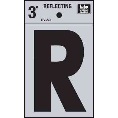 Hy-Ko Vinyl 3 In. Reflective Adhesive Letter, R