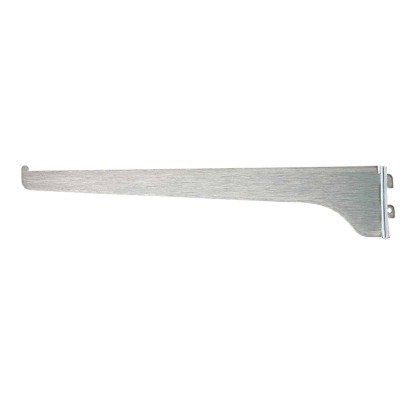 Knape & Vogt 180 Series 12 In. Anochrome Steel Regular-Duty Single-Slot Shelf Bracket