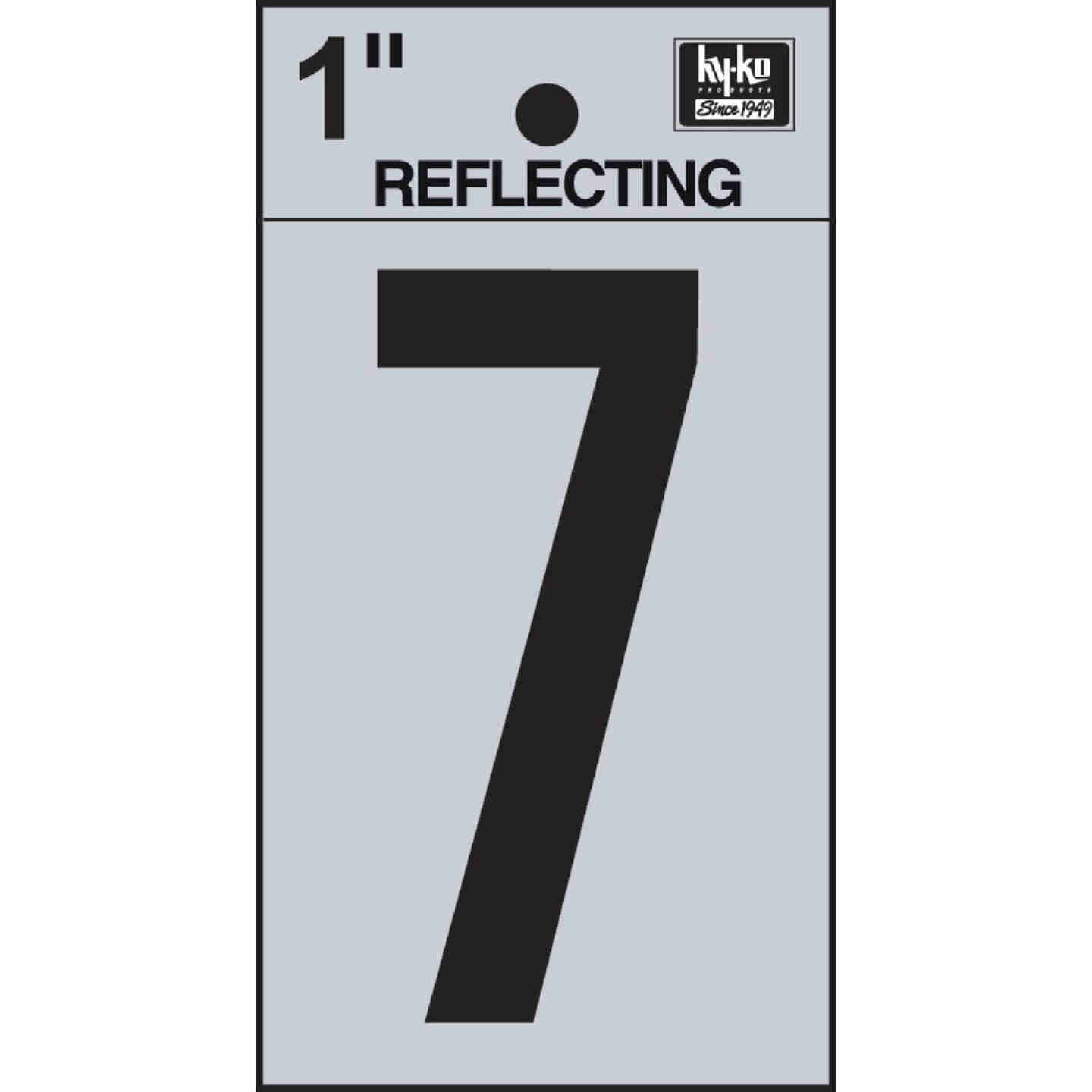 Hy-Ko Vinyl 1 In. Reflective Adhesive Number Seven Image 1