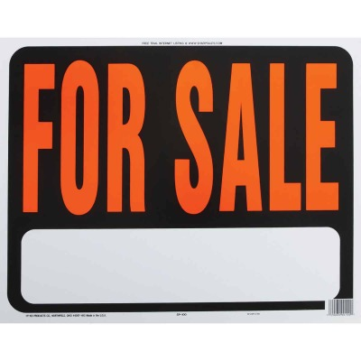 Hy-Ko Heaby Gauge Plastic Sign, For Sale