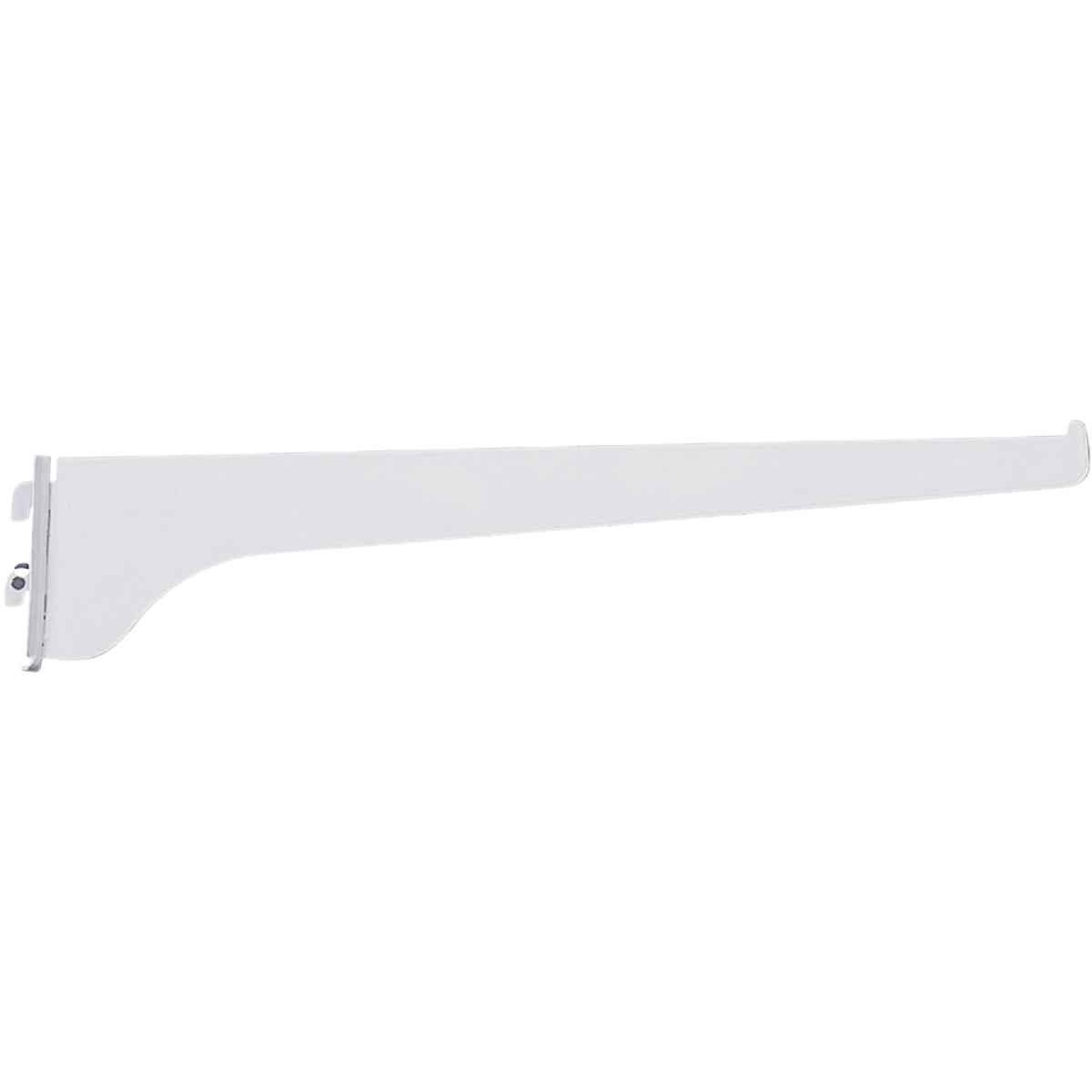 Knape & Vogt 180 Series 8 In. Titanium Steel Regular-Duty Single-Slot Shelf Bracket Image 1