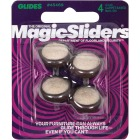 Magic Sliders 1 In. Round Nail on Furniture Glide,(4-Pack) Image 2
