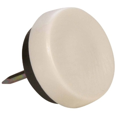 Magic Sliders 7/8 In. Round Nail on Furniture Glide,(4-Pack)