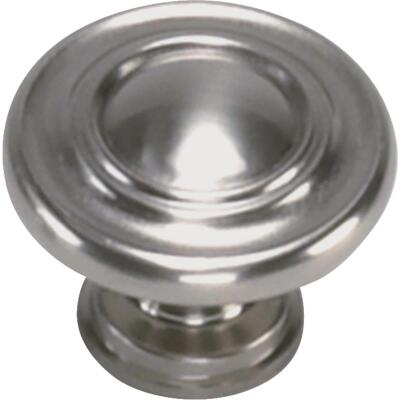Laurey Nantucket Satin Pewter 1-3/8 In. Cabinet Knob