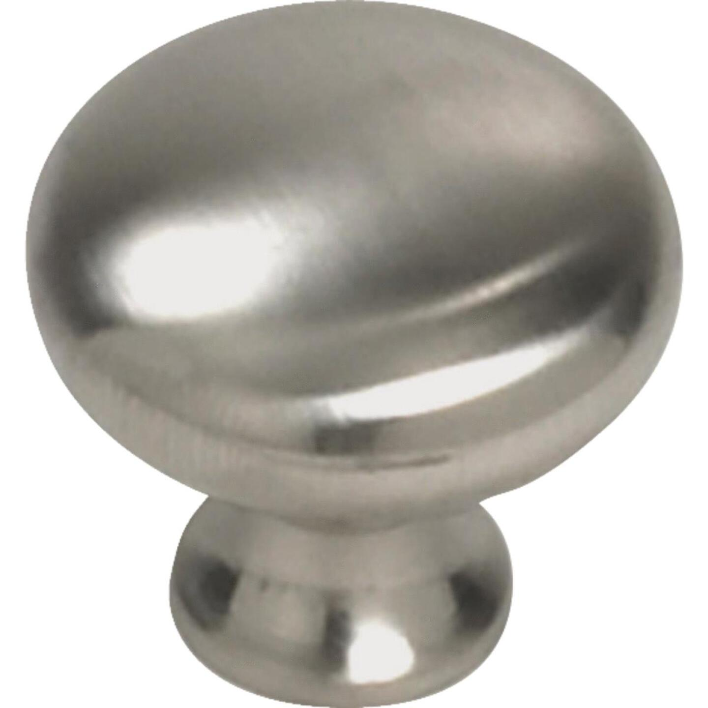 Laurey Satin Chrome 1-1/4 In. Cabinet Knob Image 1