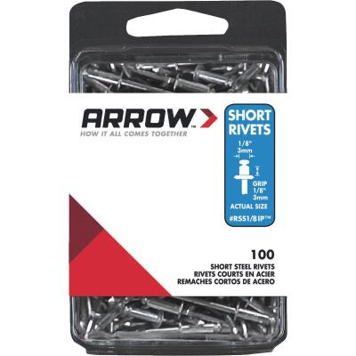 Arrow 1/8 In. x 1/8 In. Steel IP Rivet (100 Count)