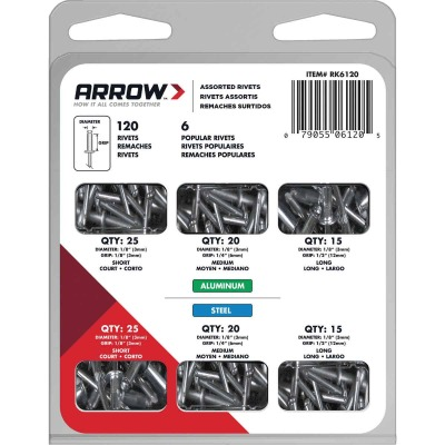 Rivet Pack Assortment