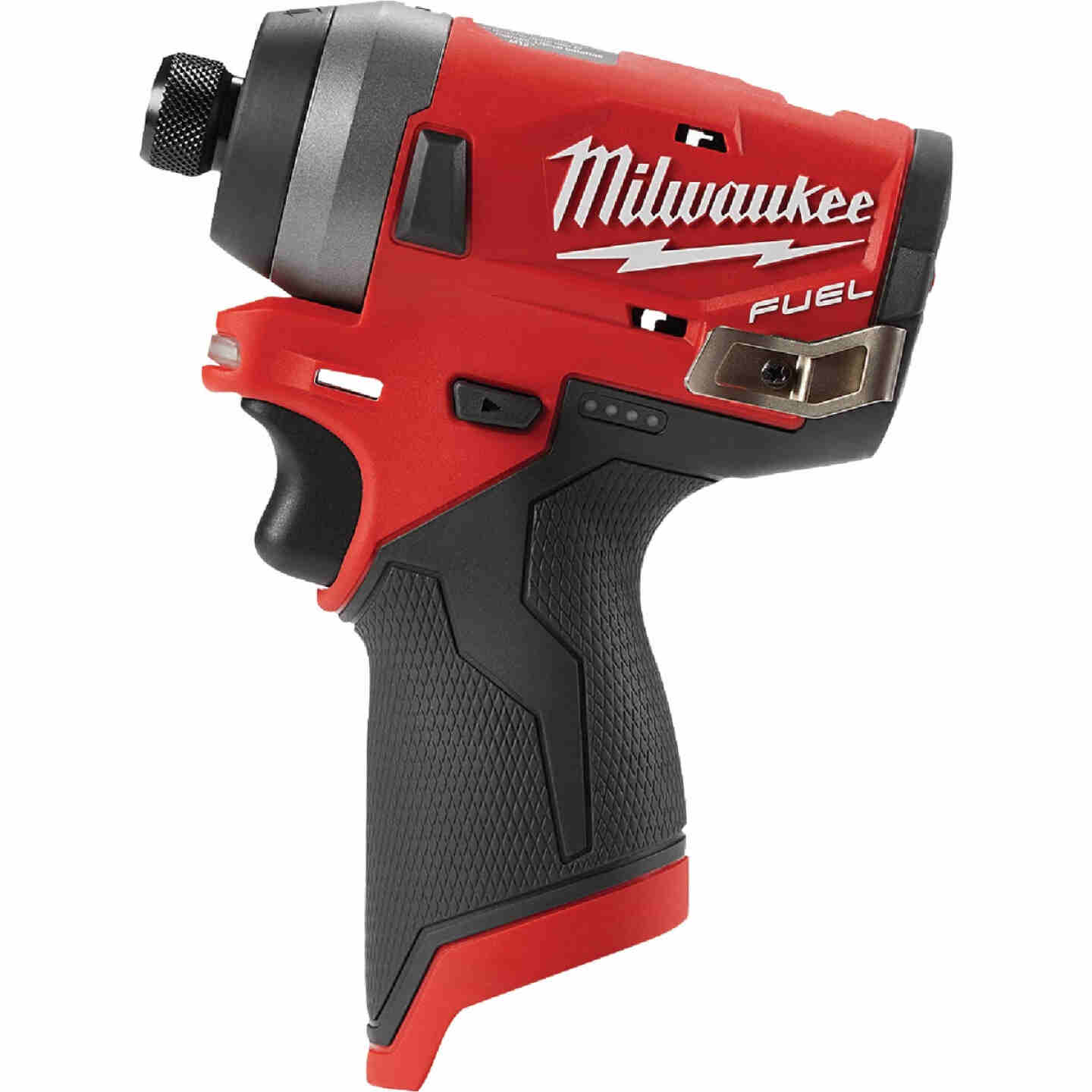 Milwaukee M12 FUEL 12 Volt Lithium-Ion Brushless 1/4 In. Hex Cordless Impact Driver (Bare Tool) Image 4