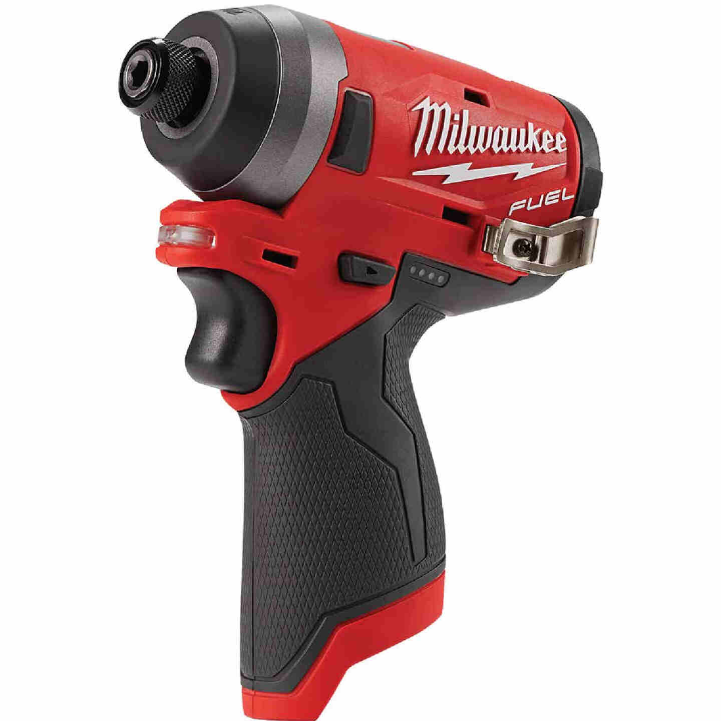 Milwaukee M12 FUEL 12 Volt Lithium-Ion Brushless 1/4 In. Hex Cordless Impact Driver (Bare Tool) Image 1