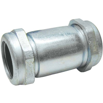 B&K 3/4 In. x 4 In. Compression Galvanized Coupling