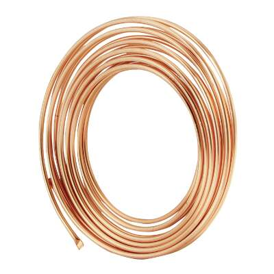 Mueller Streamline 3/8 In. OD x 50 Ft. Refrigerator Copper Tubing