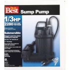 Do it Best 1/3 HP 115V Cast-Iron Submersible Sump Pump Image 2