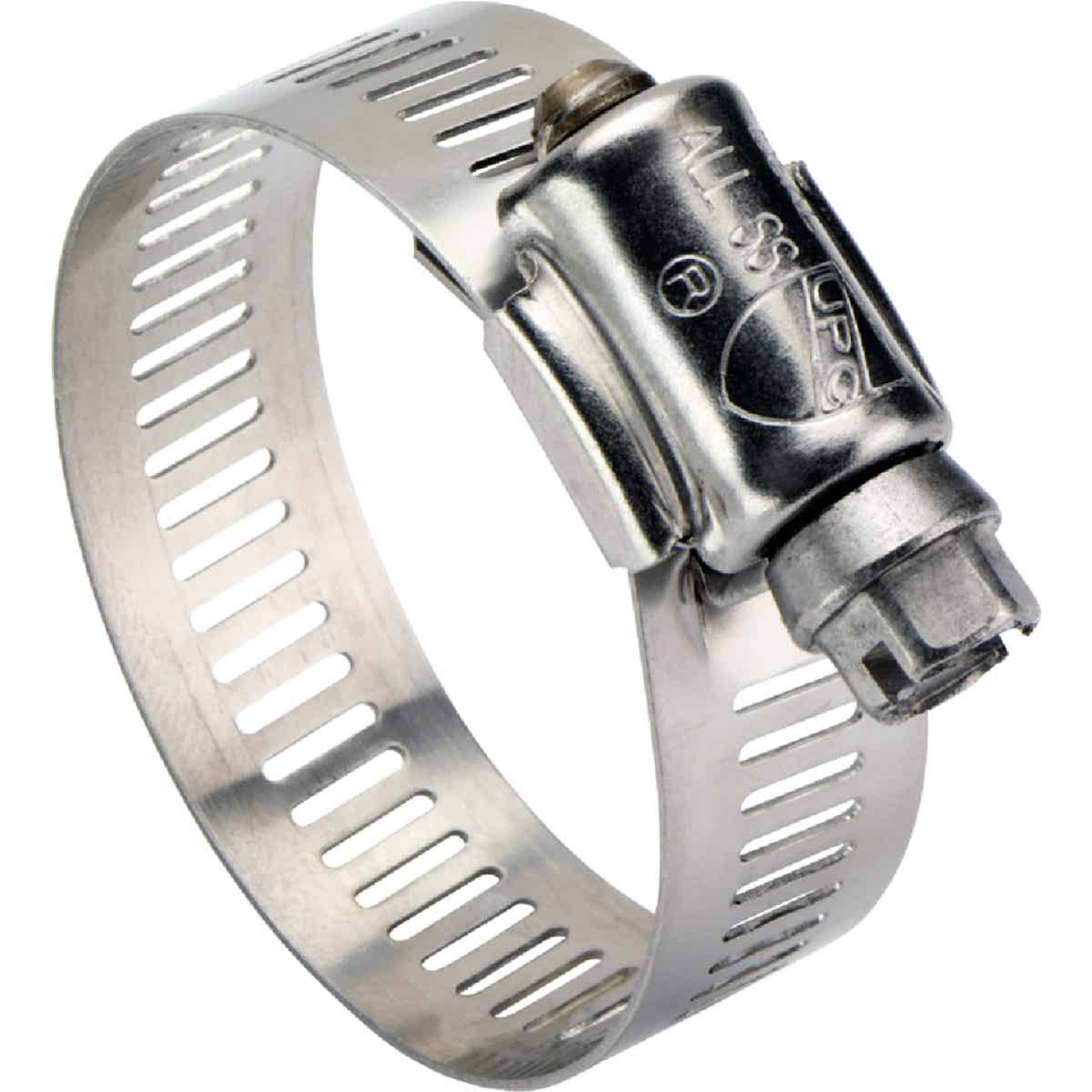 Ideal 1 In. - 2 In. All Stainless Steel Marine-Grade Hose Clamp Image 1