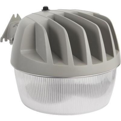 Halo Gray Dusk To Dawn LED Outdoor Area Light Fixture