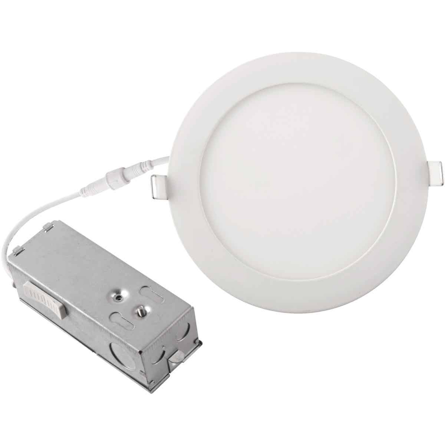 6 In. New Construction IC Rated White Tunable Slim LED CCT Downlight Image 3