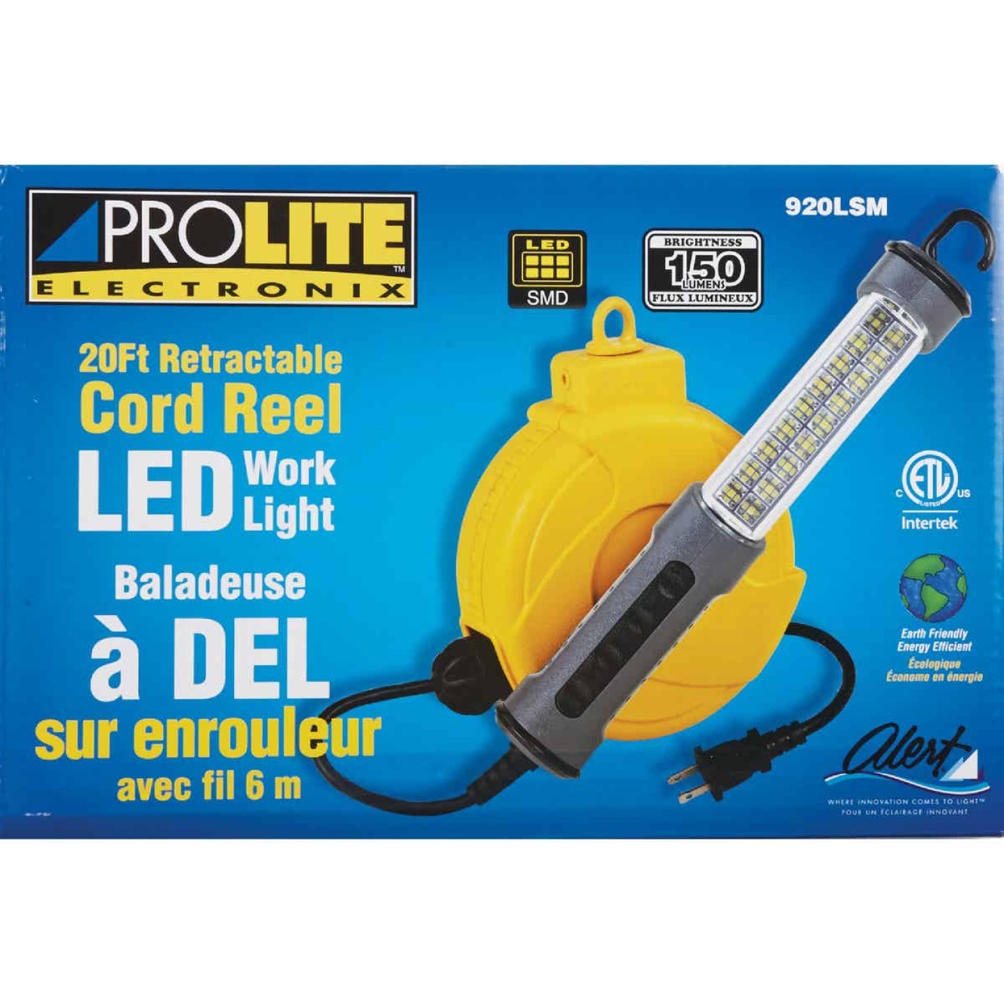 ProLite Electronix LED Trouble Light with 20 Ft. Power Cord Image 2