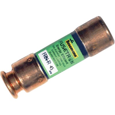 Bussmann 45A FRN-R Cartridge Heavy-Duty Time Delay Cartridge Fuse