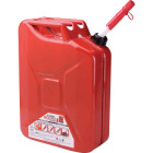 Midwest Can 5 Gal. Steel Gasoline Fuel Can, Red Image 1