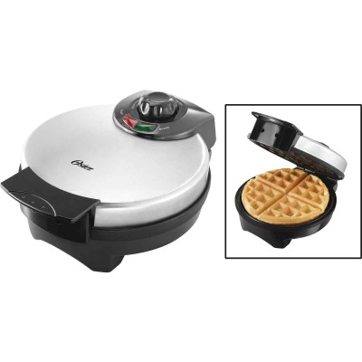 Oster 8 In. Dia. Belgian Waffle Maker