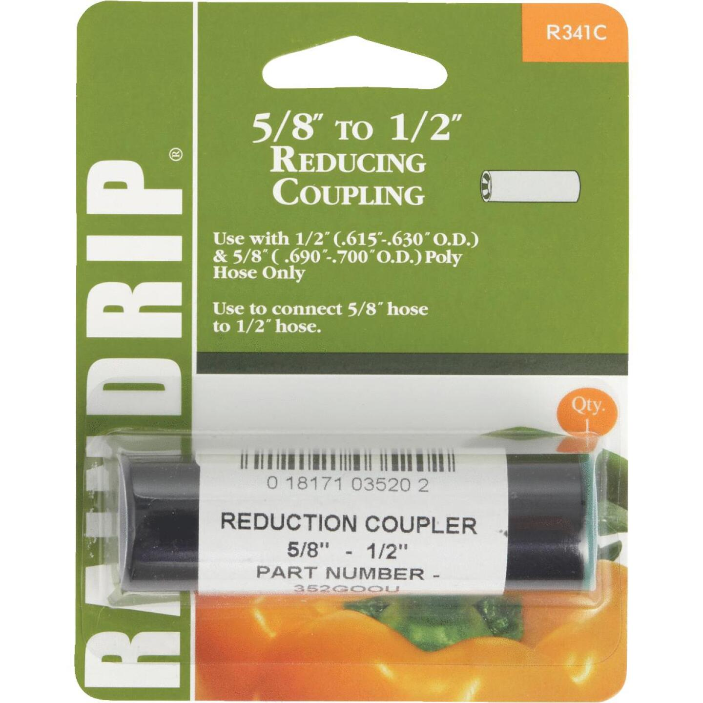 Raindrip 1/2, 5/8 In. Tubing Compression Reducer Coupling Image 1