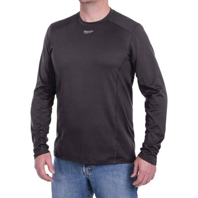 Milwaukee Workskin 2XL Gray Long Sleeve Men's Midweight Performance Shirt