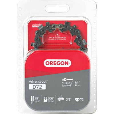 Oregon AdvanceCut D72 20/21 In. Chainsaw Chain