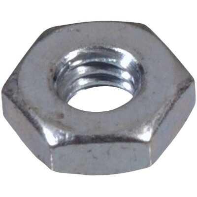 Hillman #6 32 tpi Grade 2 Zinc Hex Machine Screw Nut (100 Ct.)