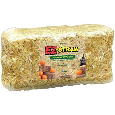 EZ-Straw 0.8 Cu. Ft. Decorative Straw Bale
