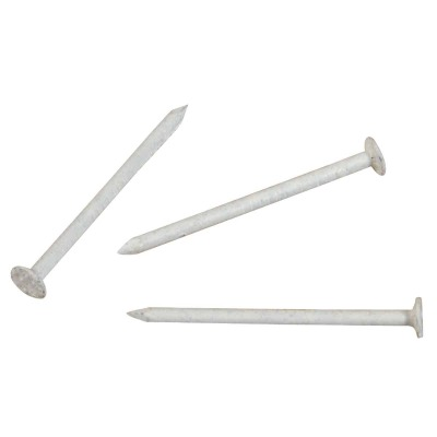 Hillman Anchor Wire 1-1/4 In. 15 ga White Stainless Steel Trim Nails (5 Ct., 6 Oz.)