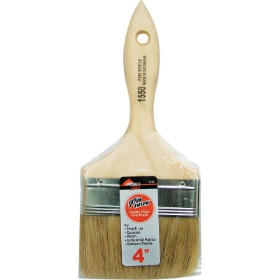 Project Select 4 In. Double Thick Chip Paint Brush