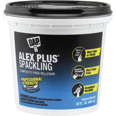 DAP ALEX PLUS 32 Oz. Professional Latex Spackling