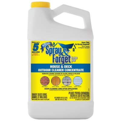 Spray & Forget 64 Oz. Liquid Concentrate House & Deck Outdoor Cleaner Mold Stain Remover