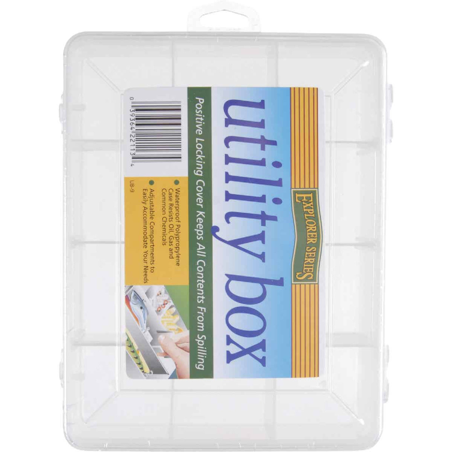 SouthBend 9-Compartment Tackle Box Image 1