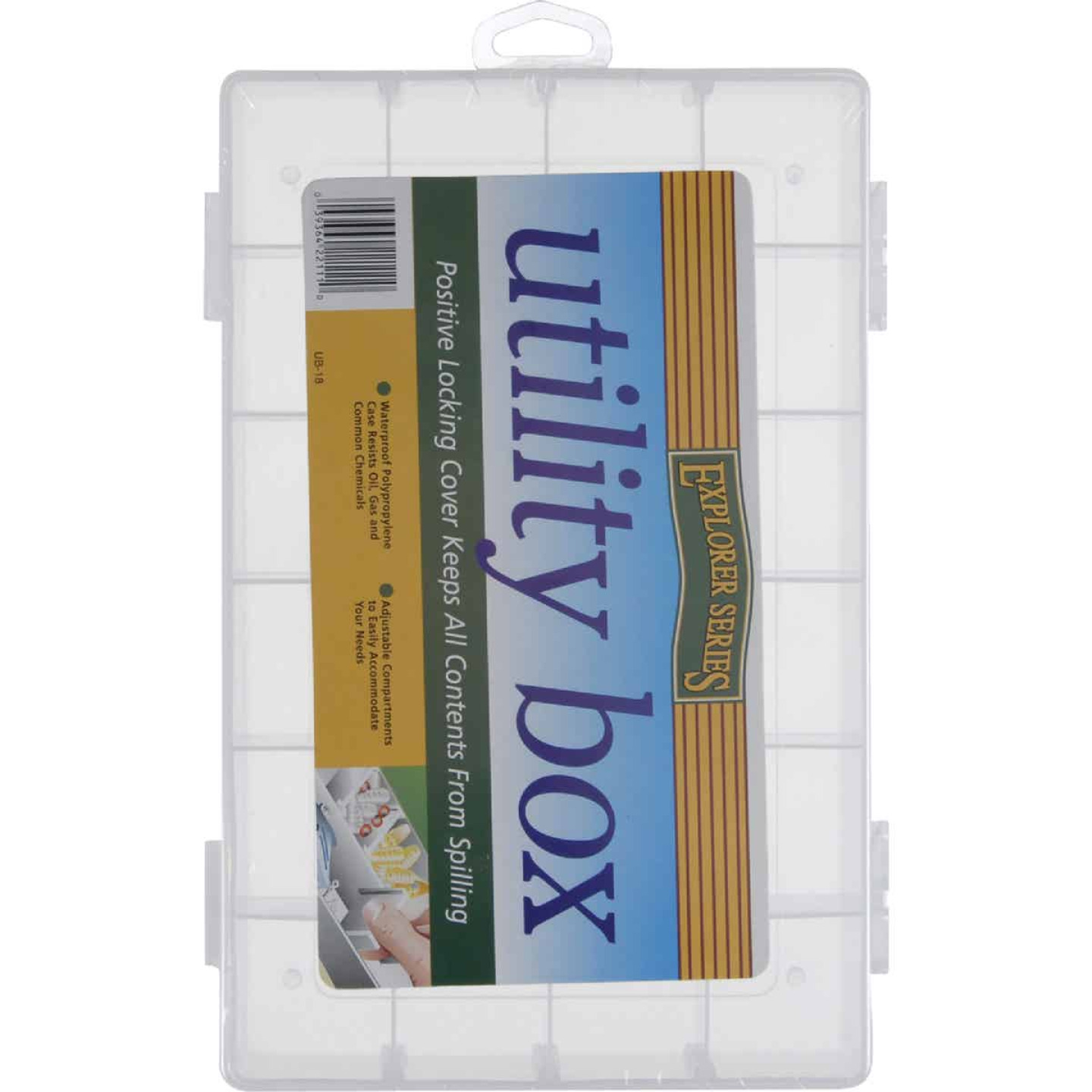SouthBend 24-Compartment Tackle Box Image 1