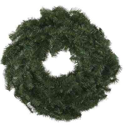 Gerson 24 In. Canadian Pine Artificial Wreath