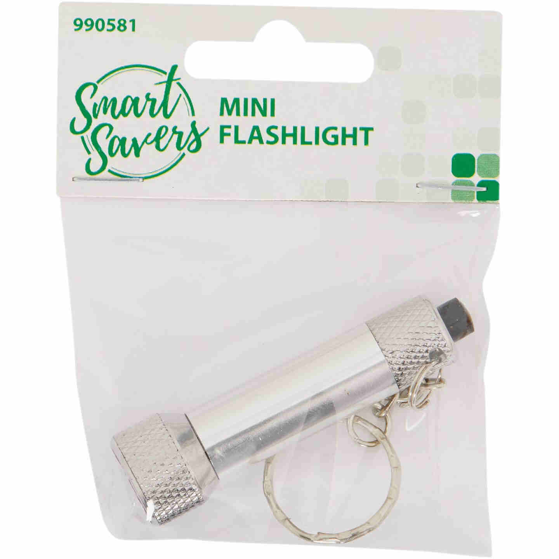 Smart Savers 20 Lm. Mini LED LR44 Flashlight Image 2